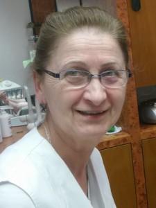 Frau Ziedenka - Fußpflege
